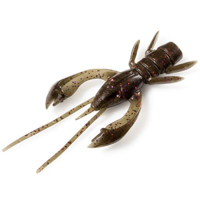 Real Craw 1,5 Green Pumpkin Brown / Red and Purple