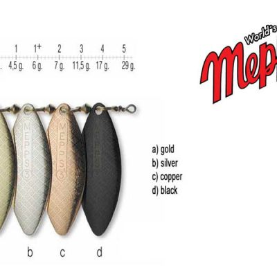 Mepps Aglia Long 0 - Cooper