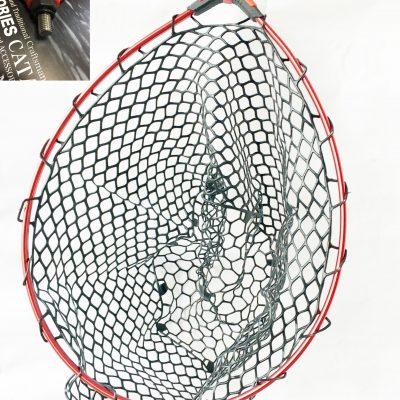 Landing net head – Troutshop Black Mesh
