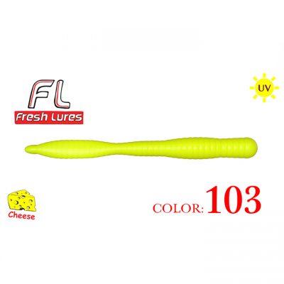 Fresh Lures Flat Worm 3.1, 103