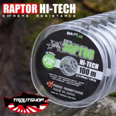 Silon Esox Raptor Hi Tech 0,12mm - 100m