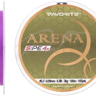 Favorite Arena 150m Purple PE 4x #  0.2 – 0,076mm – 2,1kg