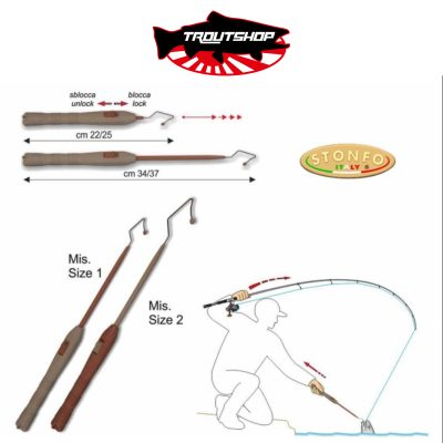 Stonfo Trout Area Releaser - size 2- color sand