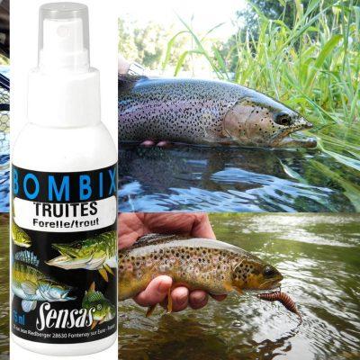 Bombix trout 75ml Sensas - Trout attractant