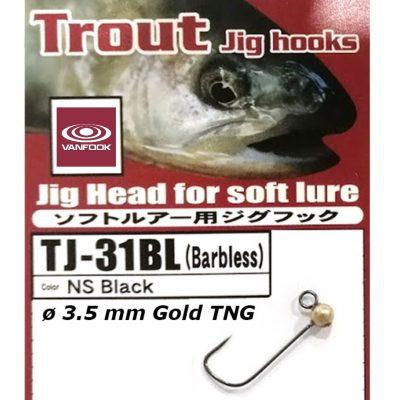 Jig Vanfook Tungsten Gold 3,5mm size 4